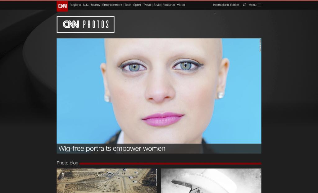 Unfading on CNN Photo