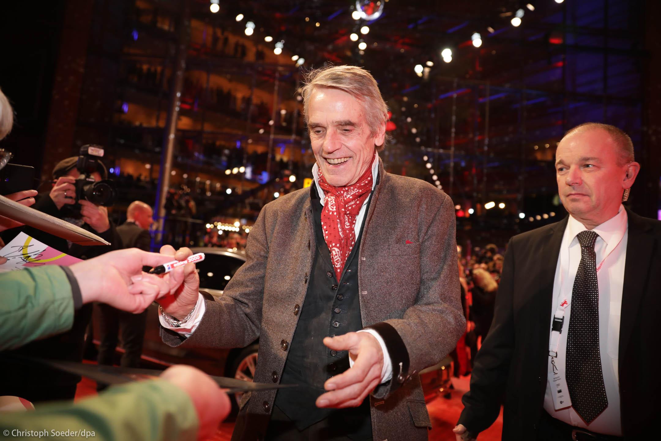 Berlinale Jury President Jeremy Irons