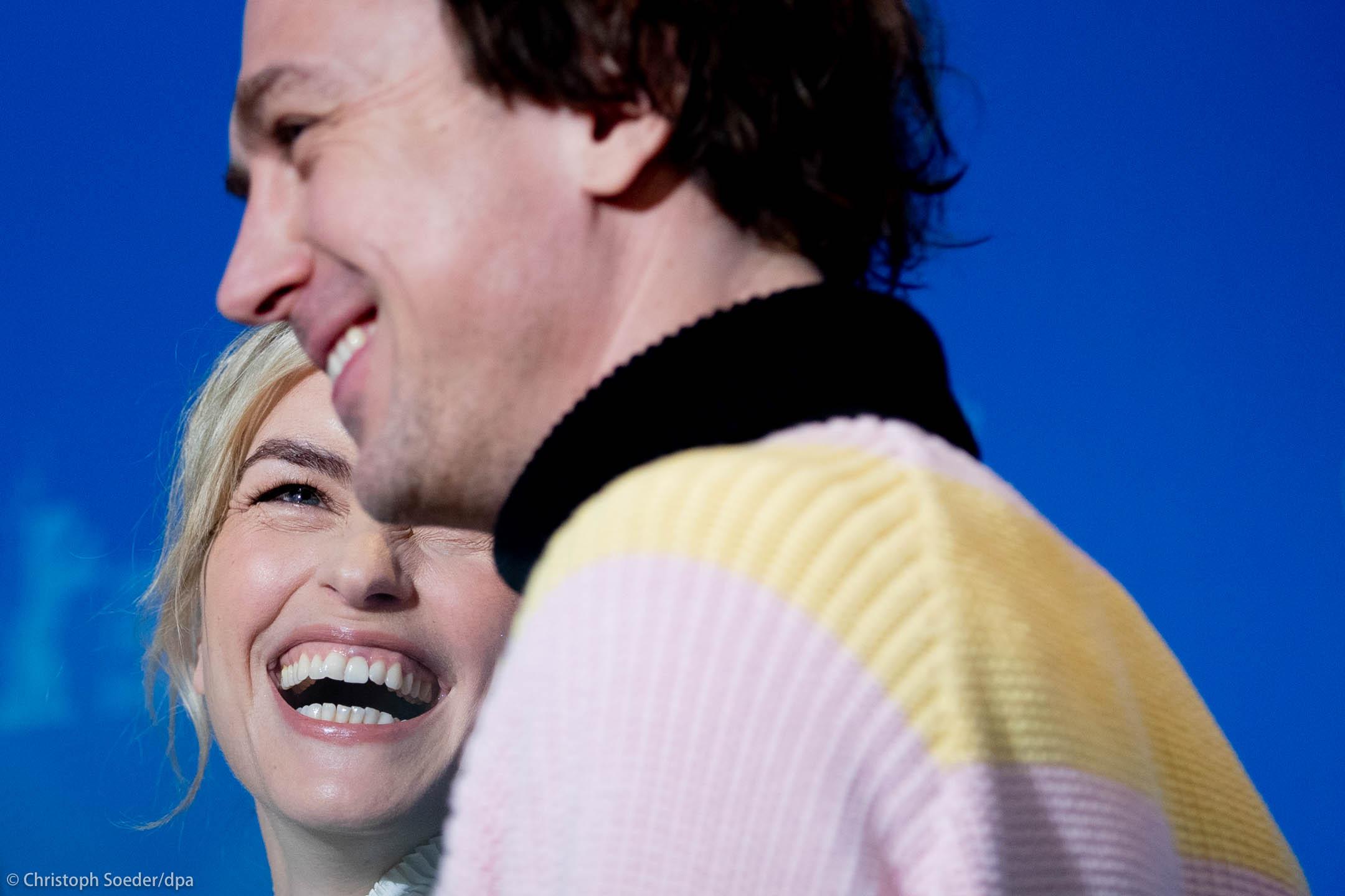 Actors Lars Eidinger and Nina Hoss