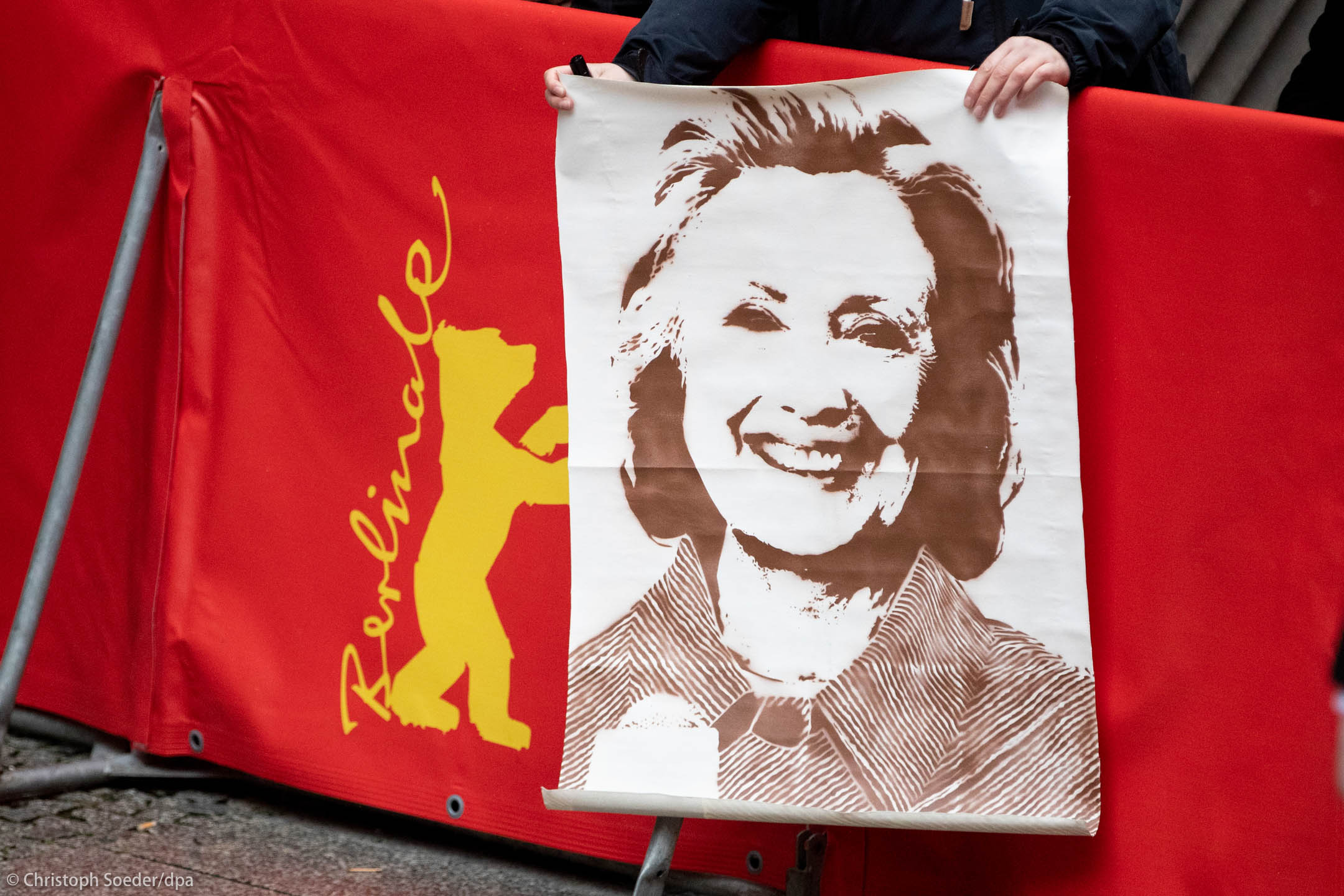 Poster of Hillary Clinton