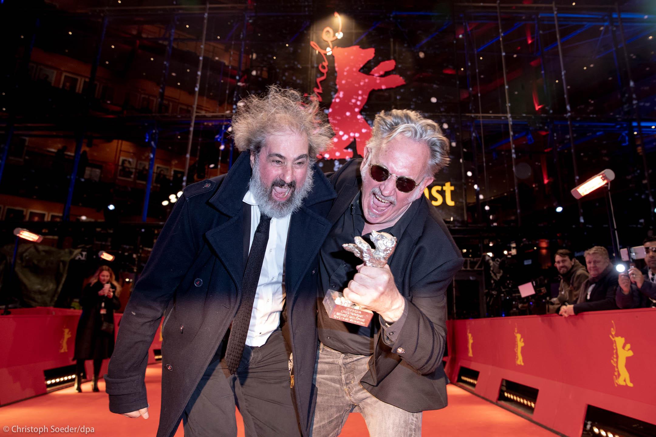 Directors Gustave Kervern (l) and Benoit Delepine
